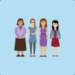 Grupos especiales para mujeres agricultoras
